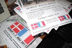 Dansk/fransk kunst- og kulturuge i Borup i maj 2011