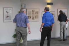"""Fernisering af """"Naturbilleder"""" 6.6.2010"""